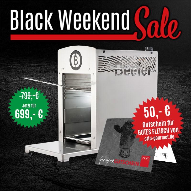 Black Weekend Sale (Otto Gourmet) | bis zu 25% Rabatt | Beefer One Pro + 50€ Gutschein für 699€