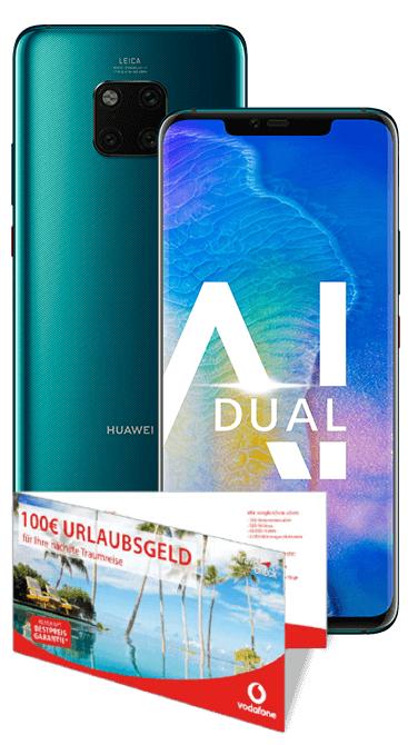 Huawei Mate 20 Pro mit Vodafone Smart XL