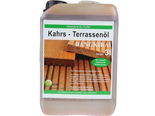 Terrassenöl Bangkirai / Garapa / Cumaru 3 Liter - 43%