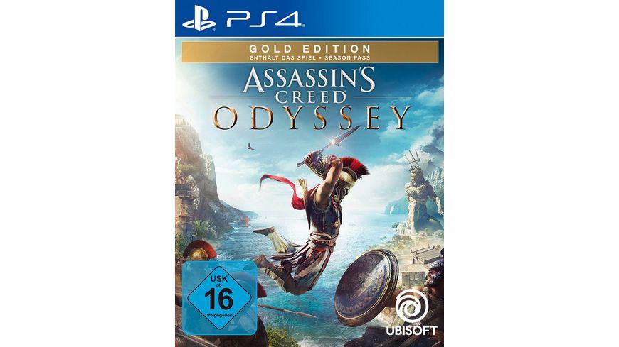 Assassins Creed Odyssey Gold Edition für PS4! 47,99 €