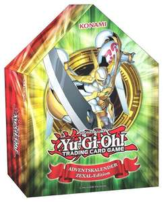 GameStop mit dem Yu-Gi-Oh! Adventskalendern