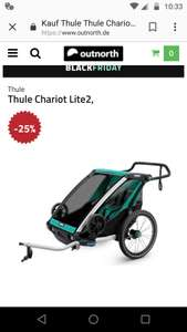 Thule Chariot Lite2 (Altes Modell)