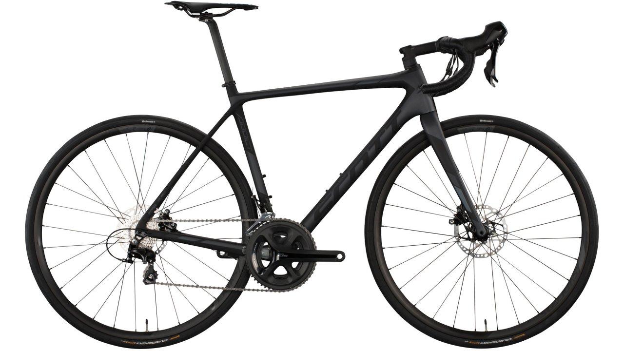 Scott Addict 30 Disc Carbon Rennrad, Fahrrad, Shimano 105 Gruppe, hydraulische Scheibenbremsen