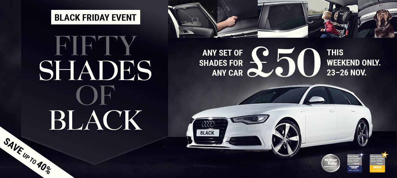 Carshades UK alle Shades / KFZ Sonnenschutz für 50 Pfund - ähnlich Sonniboy Climair