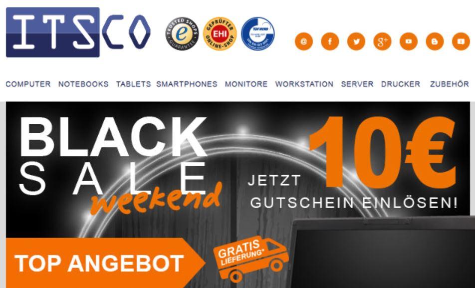 ITSCO 10€ Gutschein - 99€ MBW