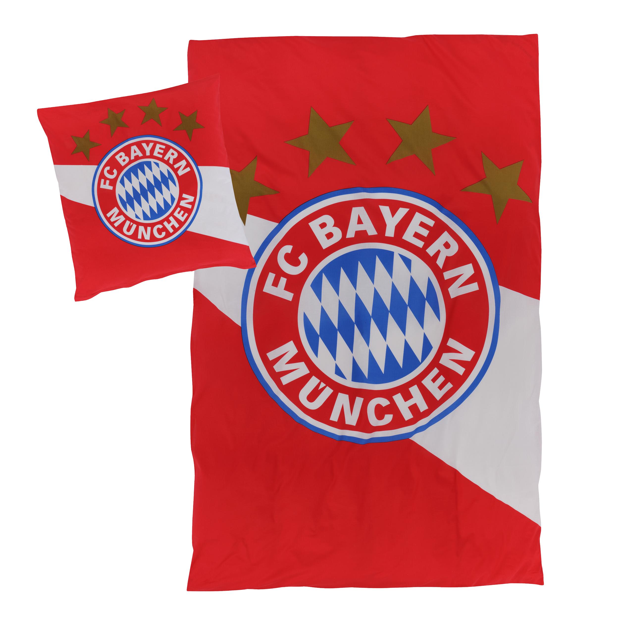 Super Bayern Deals im FCB Fan-Shop, Rabatte bis -50%, z.B. Bettwäsche für 22,47€ statt 44,95€
