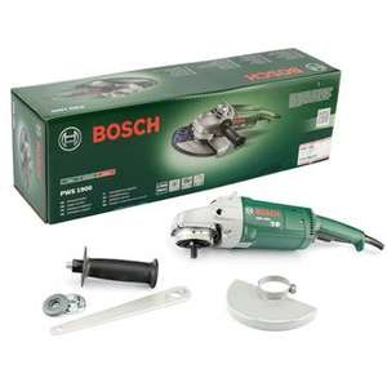 Bosch PWS 1900 Winkelschleifer (mit Anti-Vibrations-Handgriff, 1900 Watt)