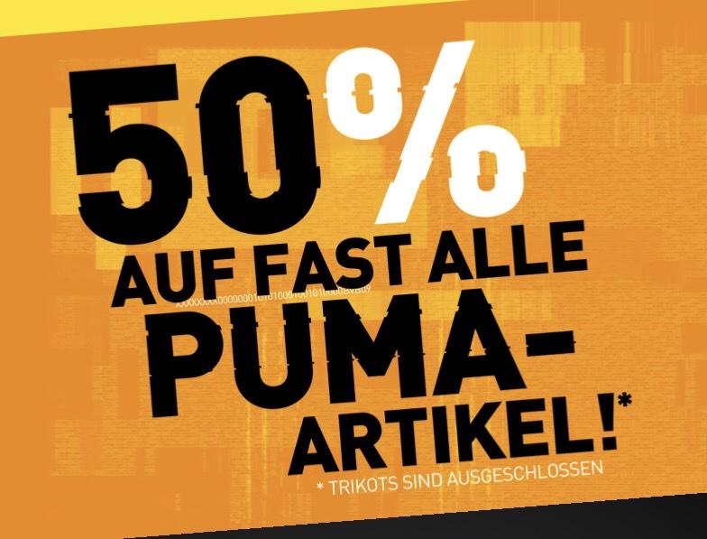 [BVB Shop] 50% auf fast alle PUMA Produkte