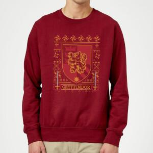Harry Potter-Weihnachtspullover im Design der vier Häuser (Hexen und Zauberer, S bis XXL)