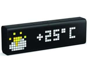 LaMetric Time, Digitaluhr mit WLAN, konfigurierbar, schwarz