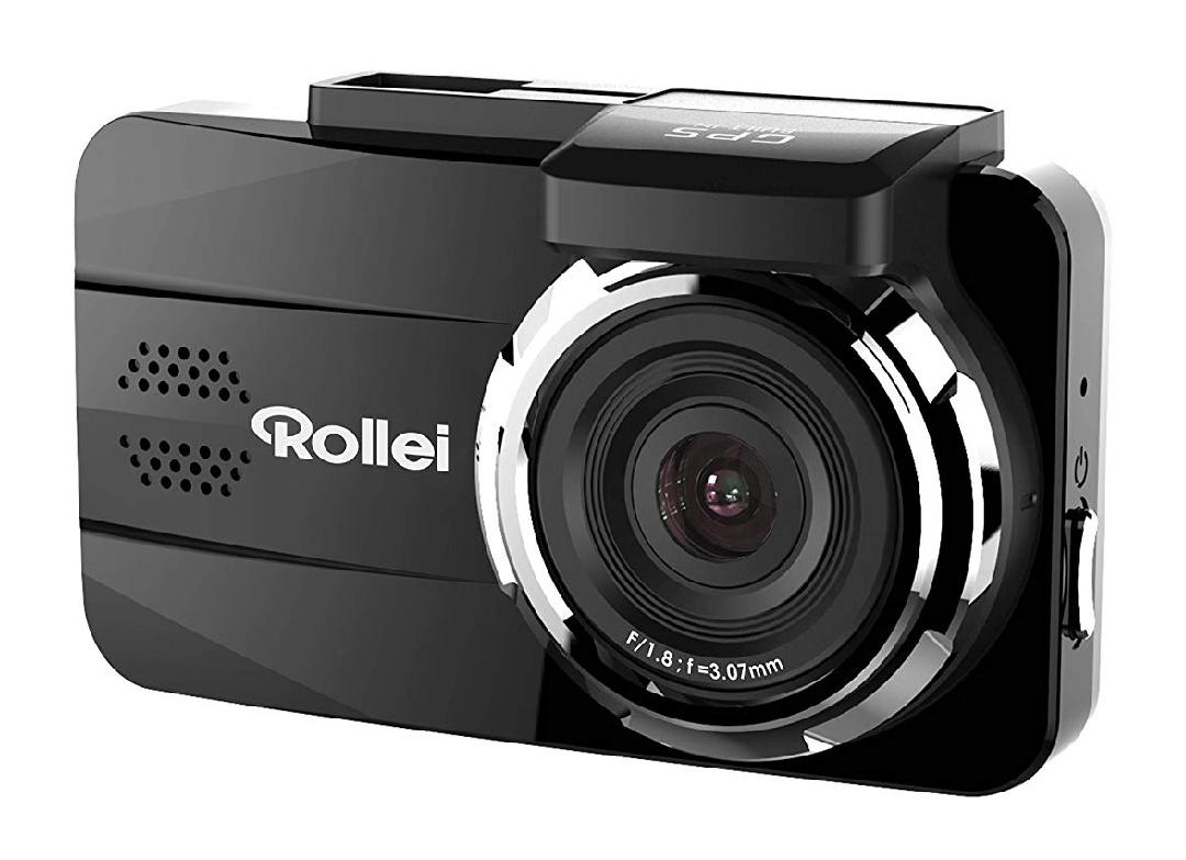 Rollei CarDVR-308, GPS Auto-Kamera (Dashcam, DVR Kamera) Full HD (1080p/30fps), Bewegungssensor, GPS Modul - Schwarz [Saturn@eBay]