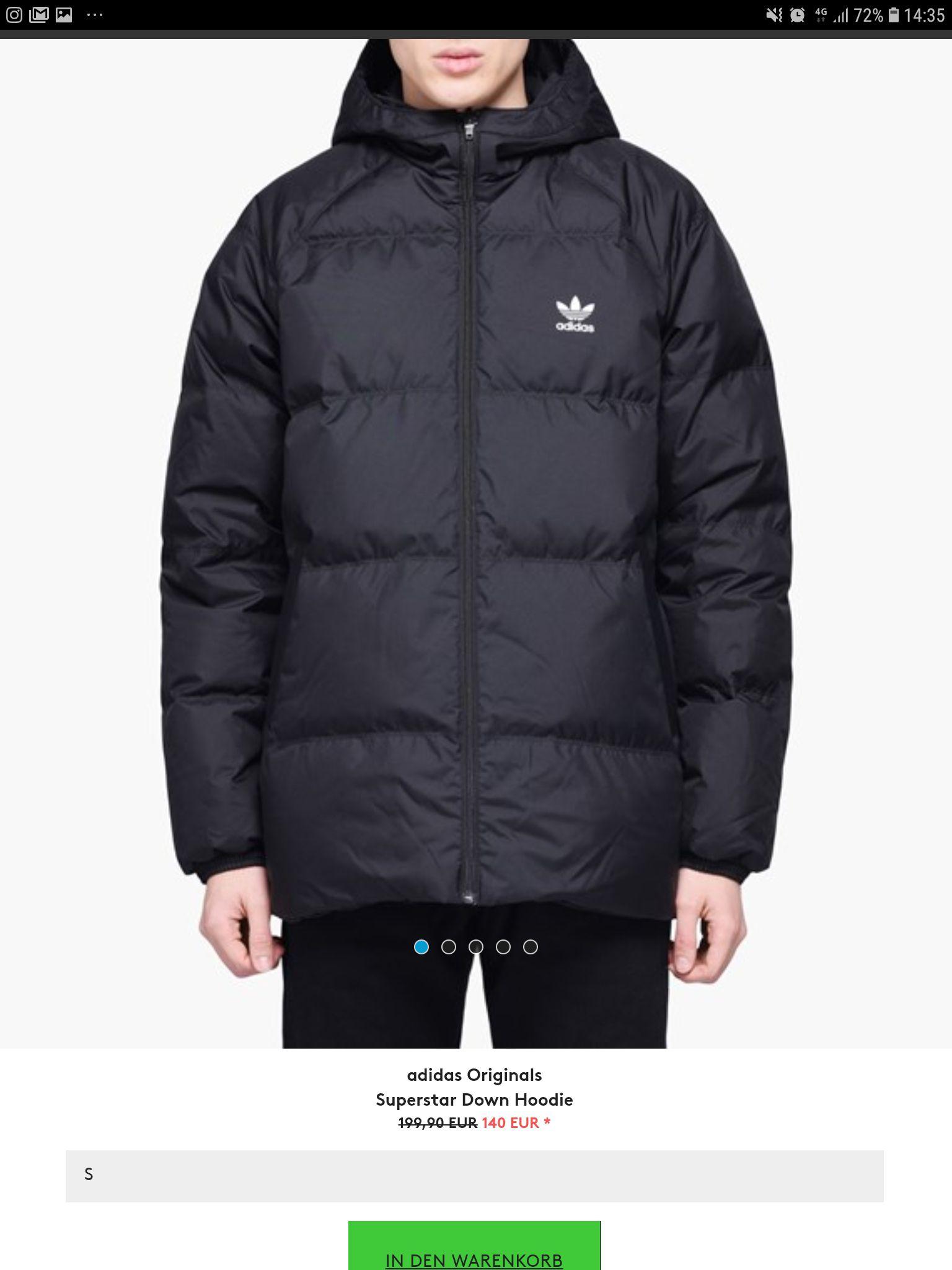 Adidas winterjacke mit Wendefunktion