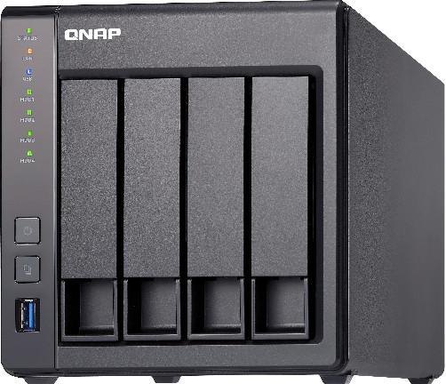 QNAP TS-431X2-2G 4-Bay NAS (1x 10Gigabit & 2x Gigabit Ethernet, 2GB RAM)
