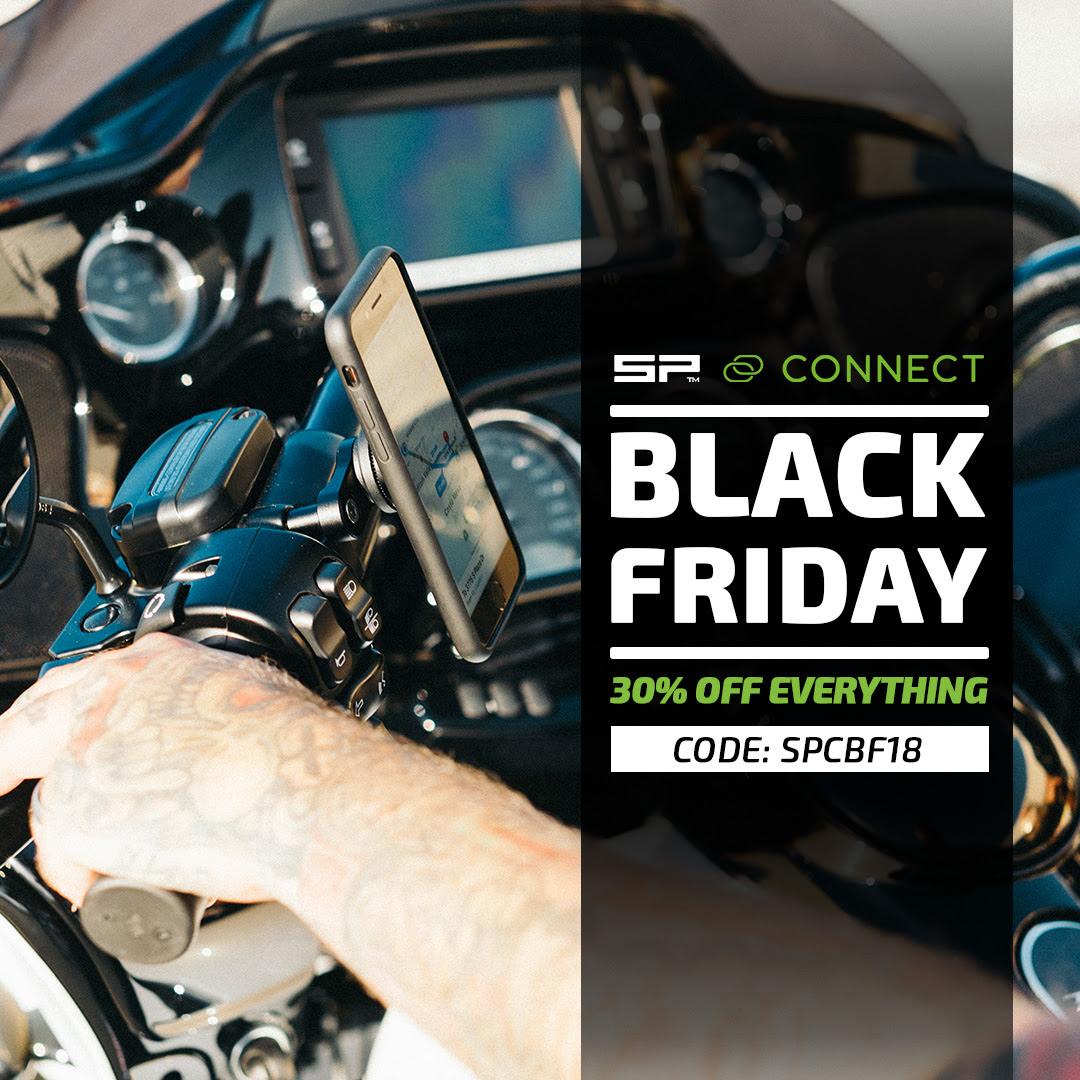 SP Connect Black Friday 30% auf alles Handy Case Universal Halterung iPhone und Samsung Galaxy