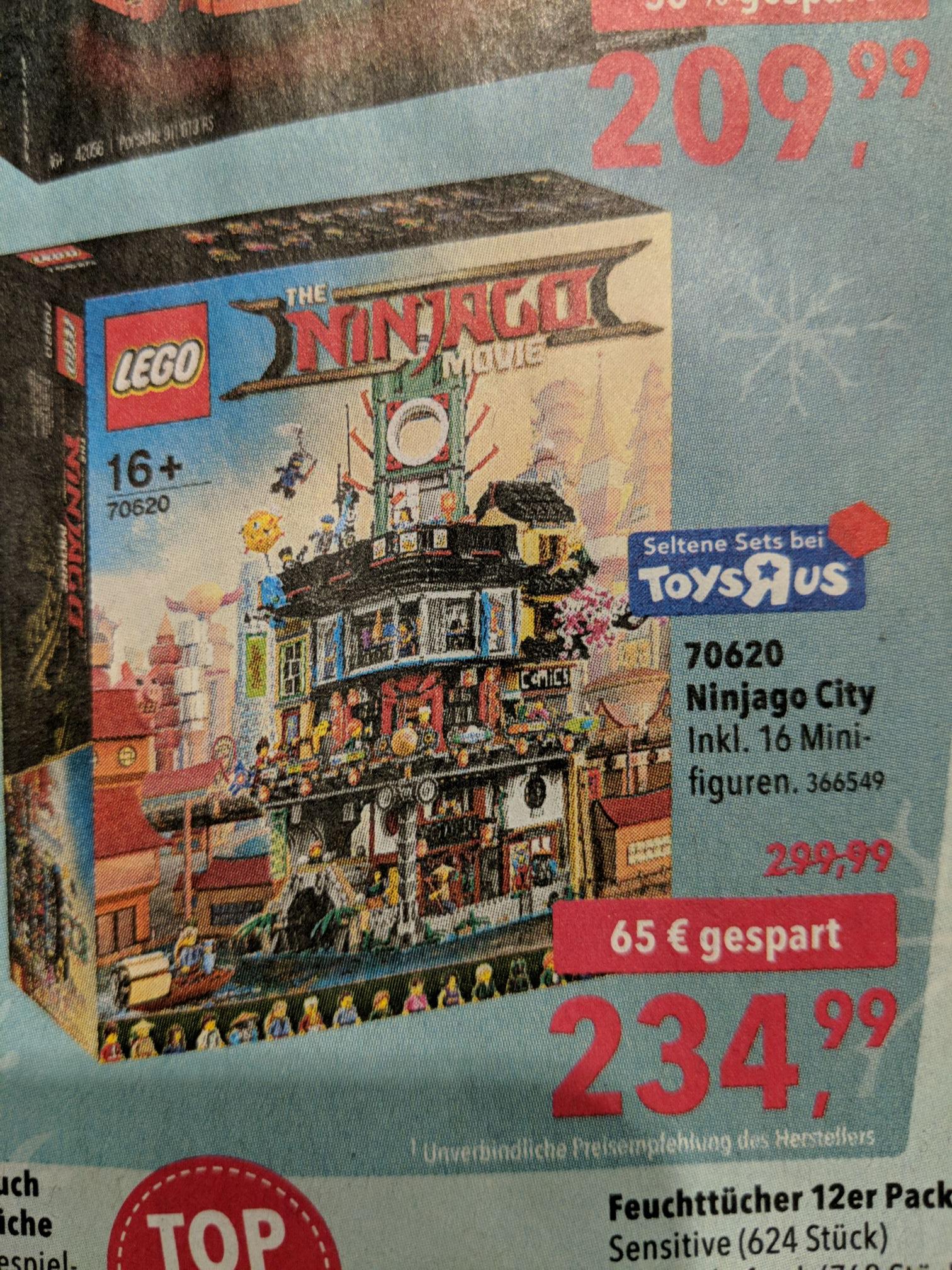 Lego 70620 Ninjago City bei Toys'r'us ab 26.11.