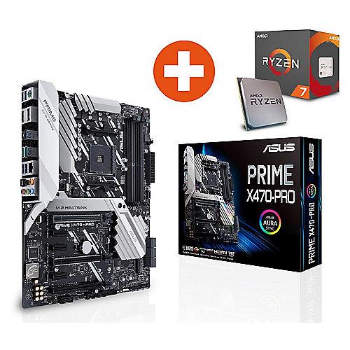 ASUS Prime X470-Pro ATX Mainboard Sockel AM4 + AMD Ryzen R7 2700X CPU
