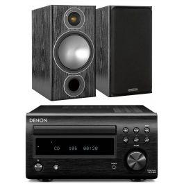 [HiFix UK] Denon RCD-M41DAB CD-Receiver und Monitor Audio Bronze 2 Lautsprecher (Paar)