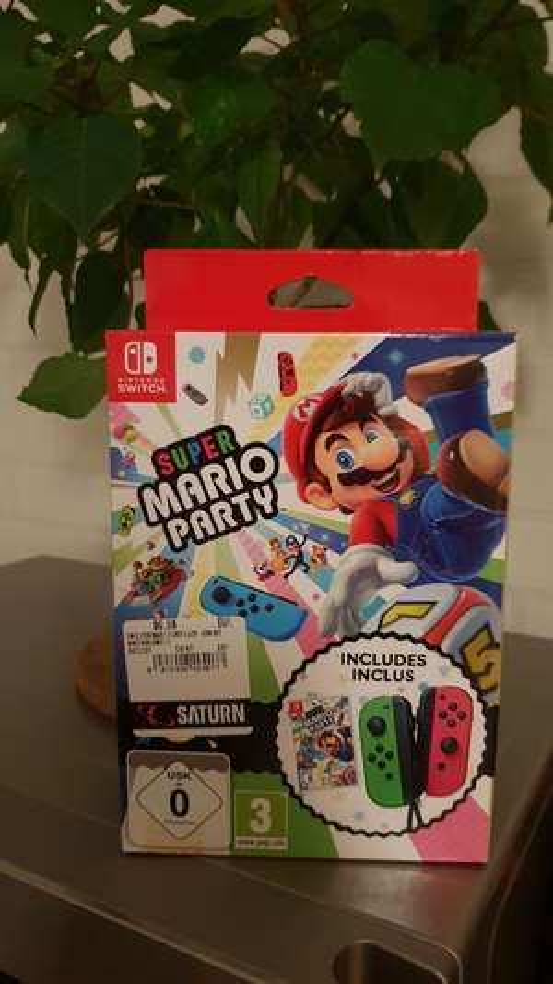 Nintendo Switch Super Mario Party + Joy Con Bundle für 66,66€ pro Bundle bei Kauf von 3 Stück im Saturn Markt