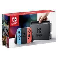 Nintendo Switch für 249,83€ in grau oder rot/blau dank 35fach Payback bei REAL Online