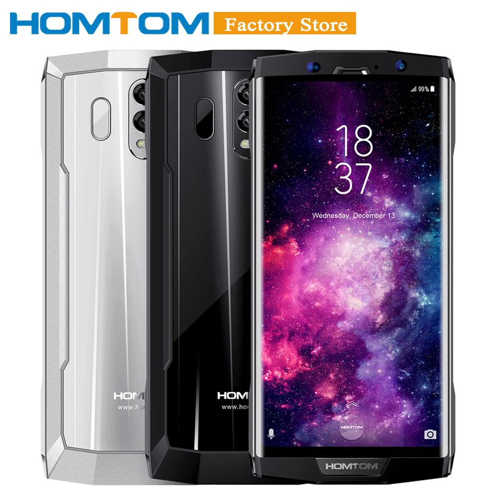 HOMTOM HT70 10000mAh Mobile Phone 4GB 64GB 6''18:9 HD+ Display Octa-core 13MP Front 16MP+5MP Dual Rear Cameras Fingerprint