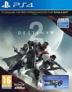 Destiny 2 (PS4) inkl. Exotic Weapon DLC für 5,50€ (ShopTo)