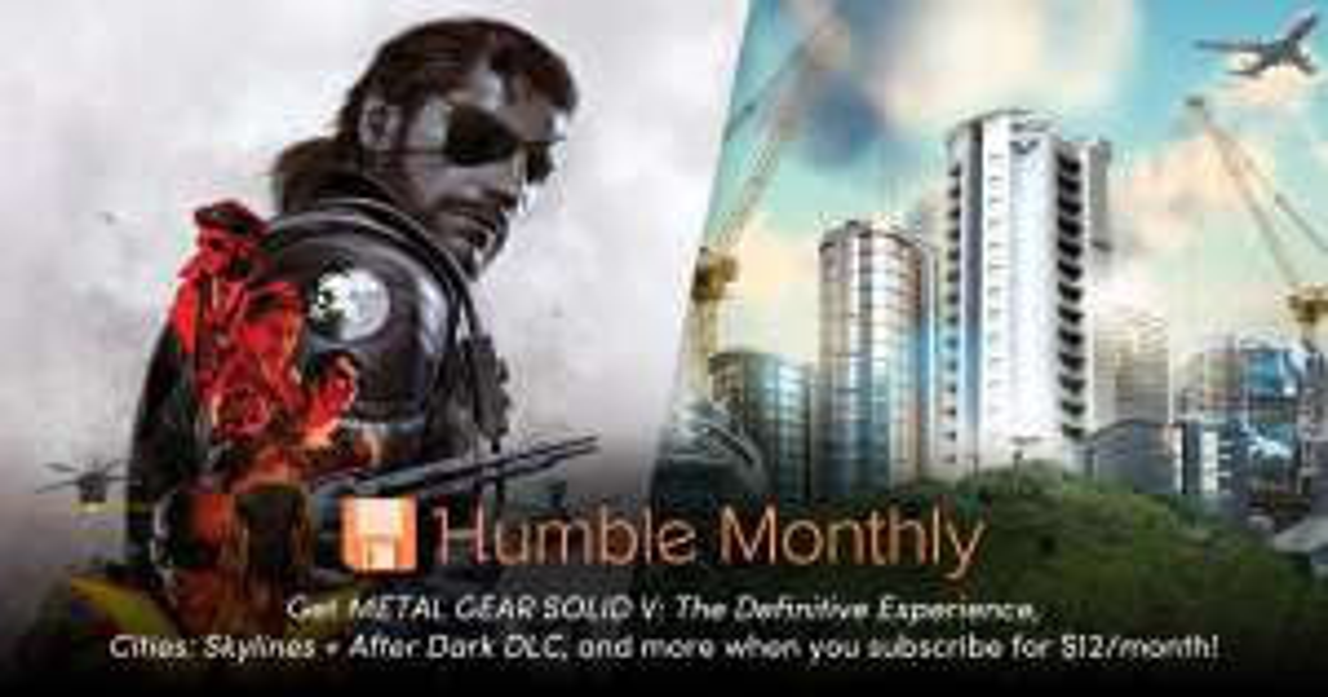 Humble Bundle - HUMBLE MONTHLY 12 Monate für 99 $