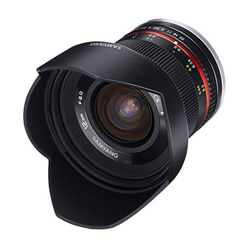 (Amazon.fr) Samyang 12/2,0 Objektiv APS-C Sony E-Mount