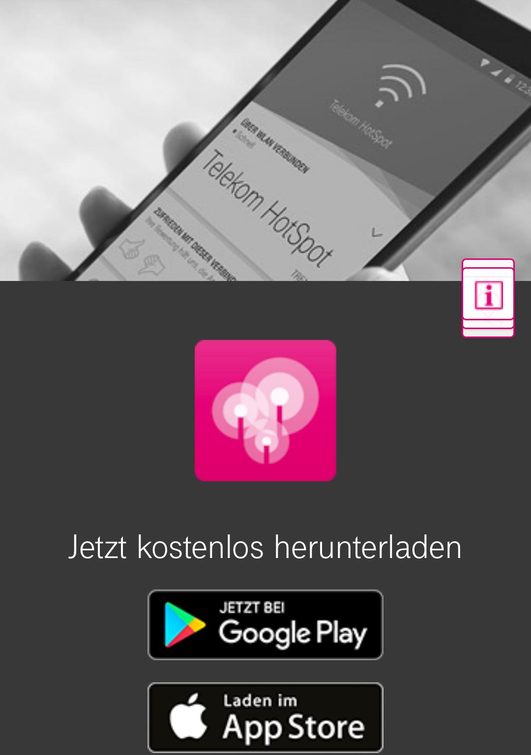 Gratis WLAN-VPN (deutsches Netzwerk) via App für Telekom-Kunden