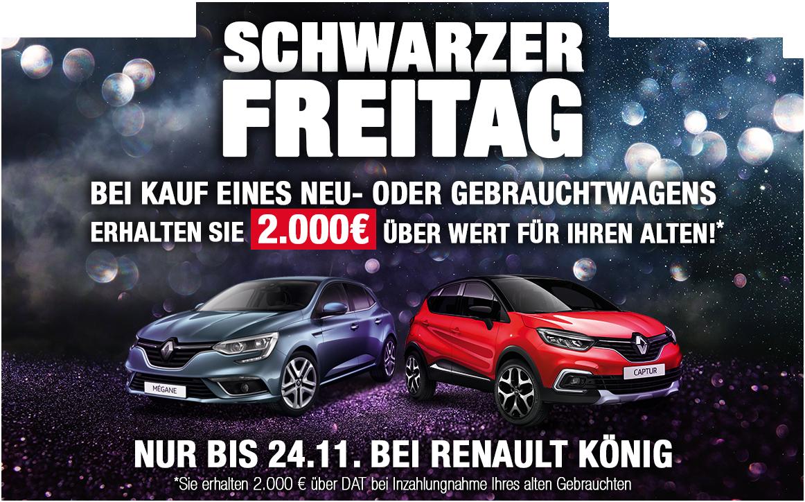 2000€ Inzahlungnahmeprämie für Benziner (+Diesel) bei Autohaus König. Sandero / Twingo / Panda / Tipo billig