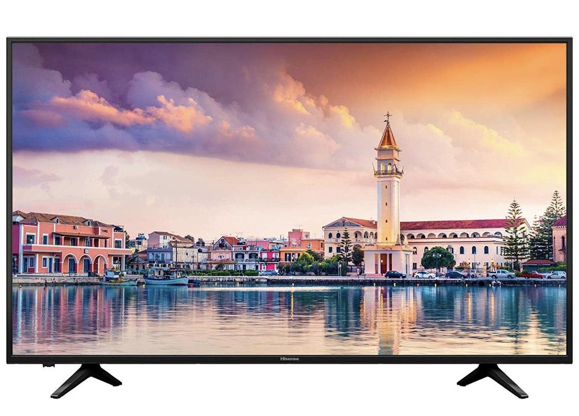 Hisense H43AE6000 108 cm (43 Zoll) LED Fernseher (Ultra HD, HDR, Triple Tuner, Smart TV)