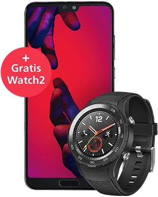 Huawei P20 Pro Dual Sim + O2 free M + Watch 2