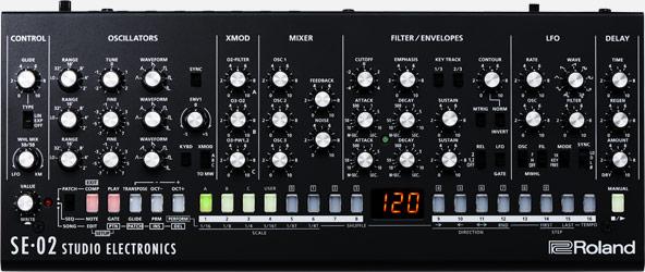Roland SE-02 Studio Electronics Synthesizermodul