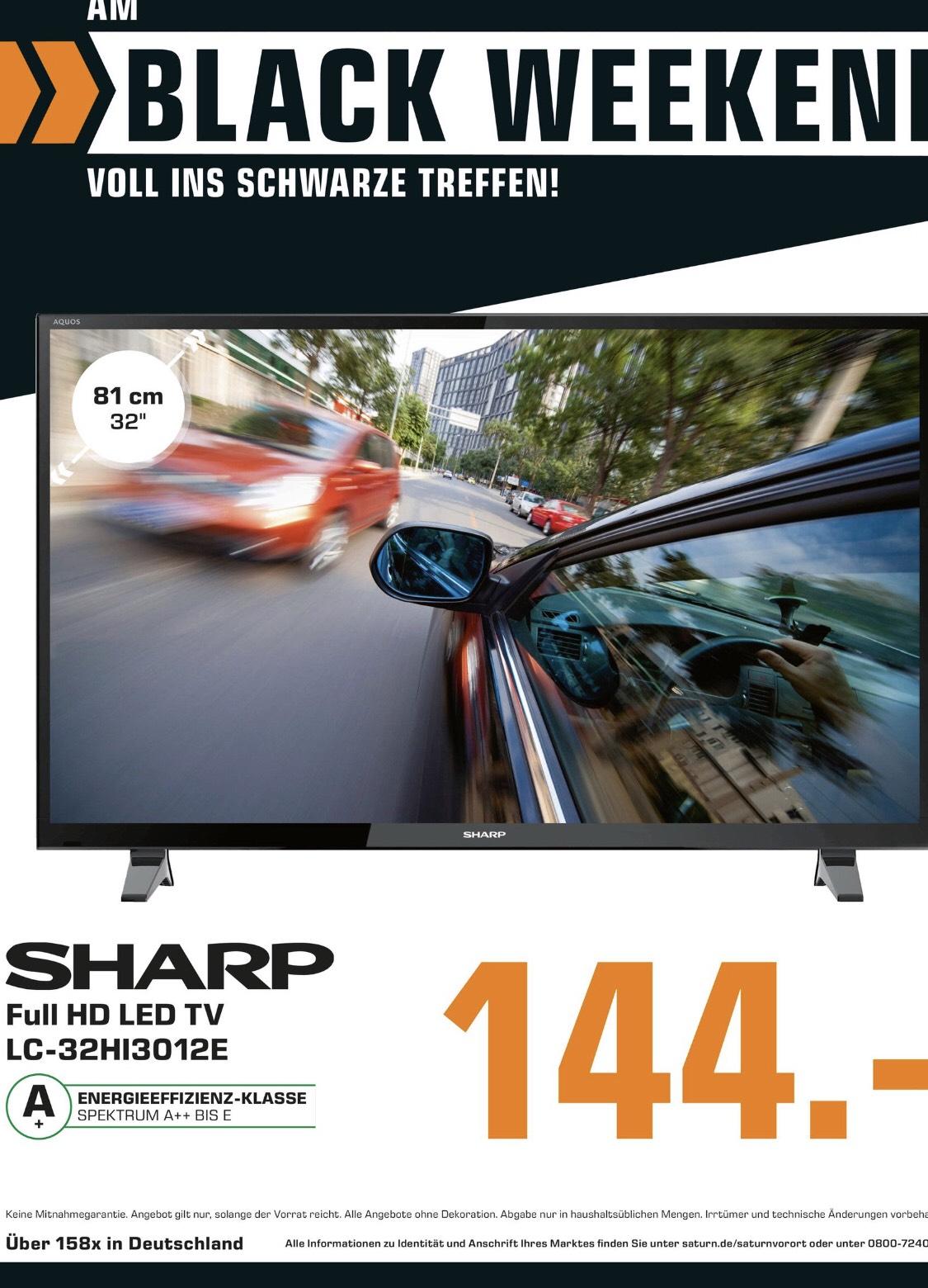 SHARP LC-32HI3012E led Fernseher 32 Zoll HD ready