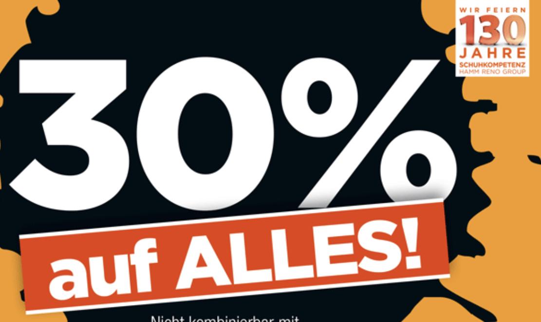 30% auf ALLES bei Reno Schuhe (auch reduziertes!)