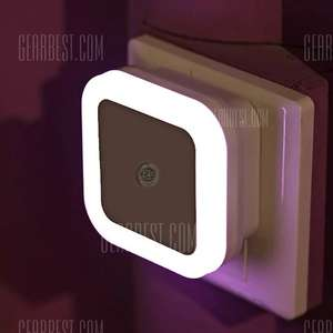 Smart LED Night Light Bedroom Induction Lamp  EU PLUG Alle Farben und Formen