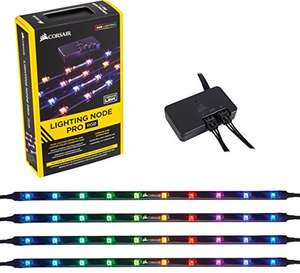 Corsair iCue RGB Strips inkl. Lightning Node (jede LED individuell ansteuerbar)