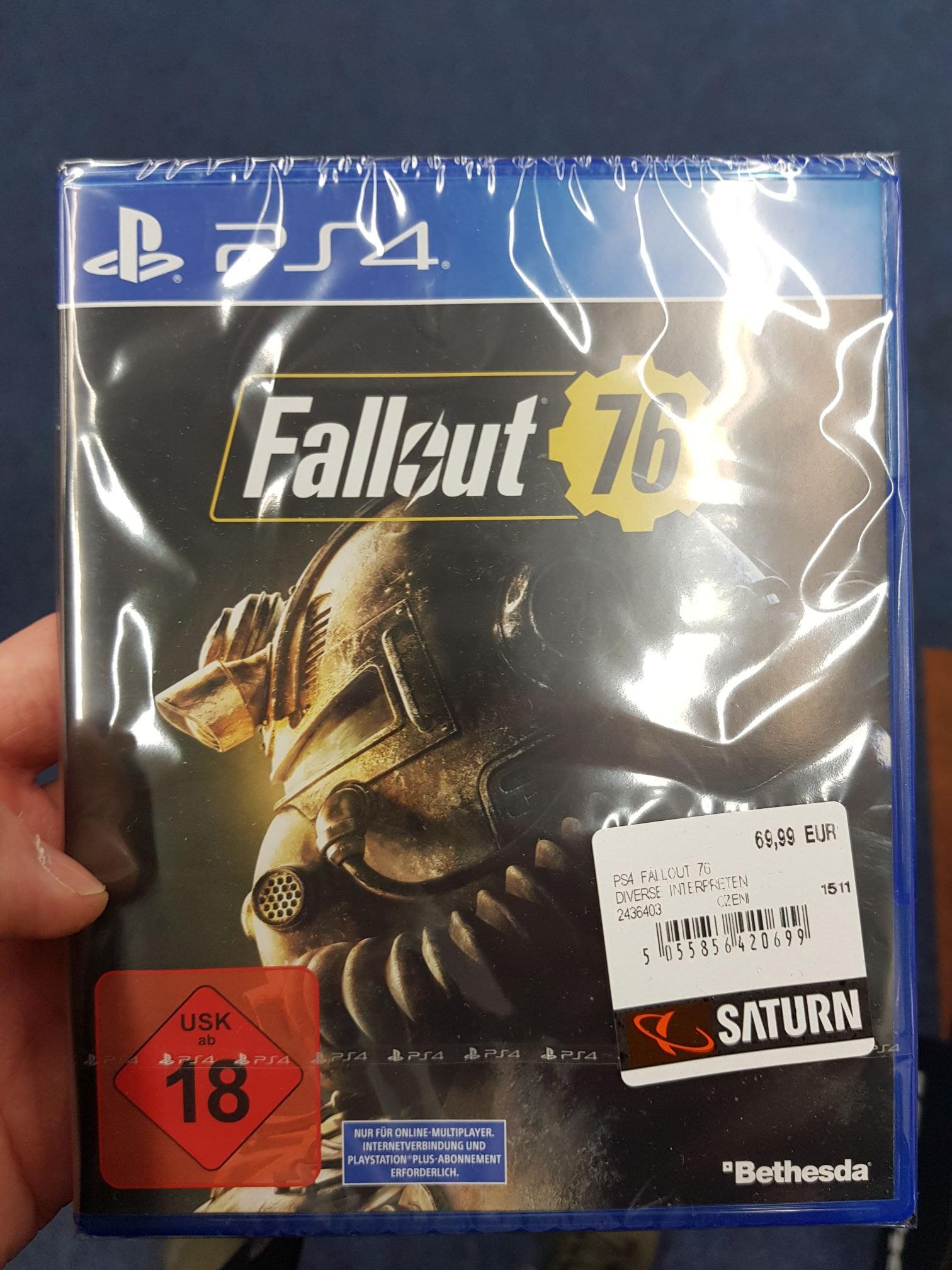 Fallout 76 PS4 mit der Aktion Kauf 3 Zahl 2 - Lokal in Troisdorf 53842 -
