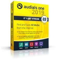 Audials One 2019 Download Version für 29,90€ (auch für Neukunden!)