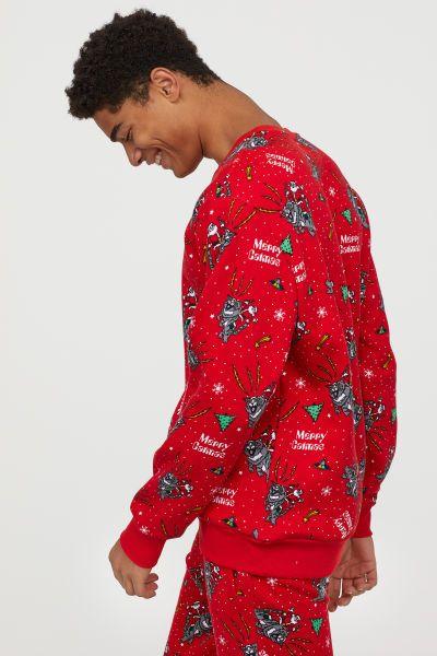 Hässlicher Weihnachtspullover bei H und M