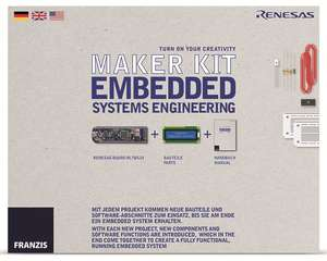 Lernpaket FRANZIS Maker Kit- Embedded Systems Engineering (Pollin)