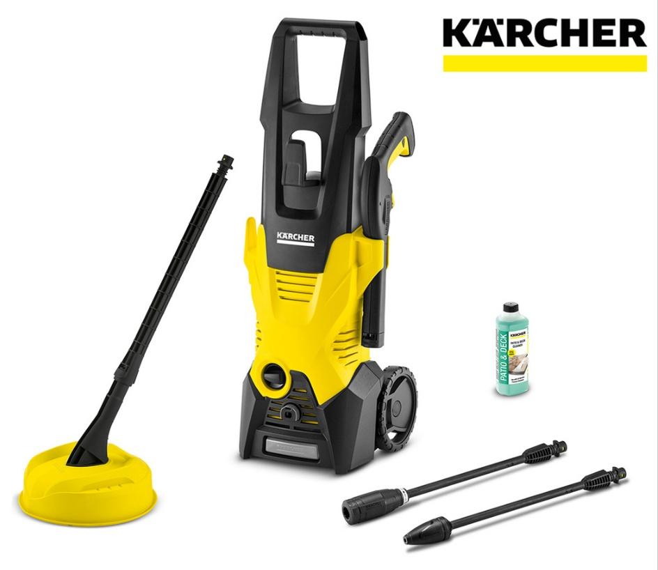 Kärcher Hochdruckreiniger K3 Premium Full Control Home - (1.600 W, 20 - 120 bar, Fördermenge: Max. 380 l/h)