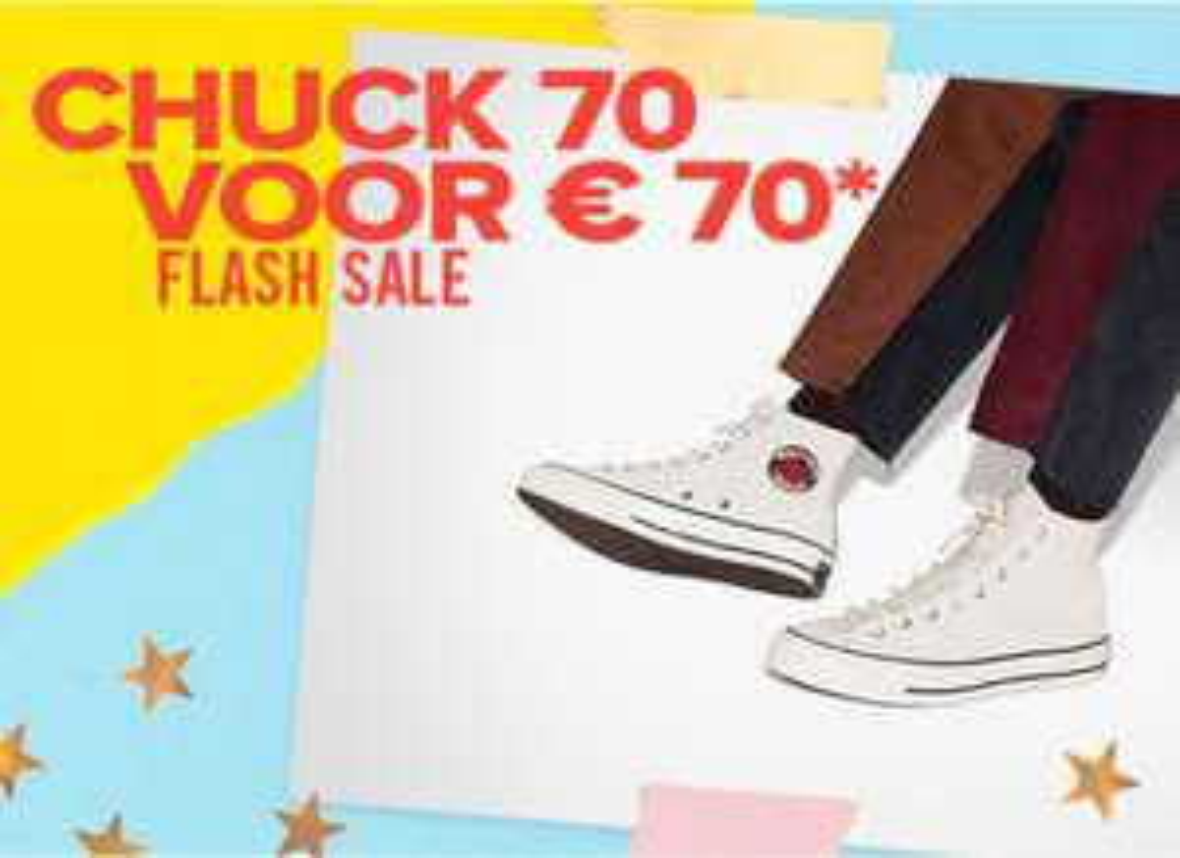 Converse Chuck 70 für 70 EUR