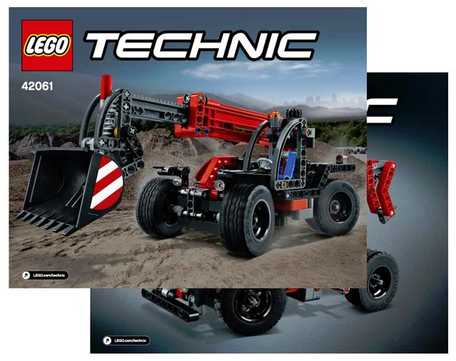 LEGO 42061 Teleskoplader