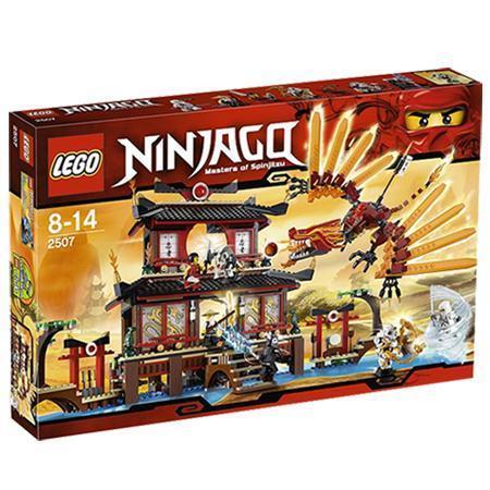 Lego Ninjago Feuertempel 2507 für 49,99 € usw (leider lokal in 24837 Schleswig)