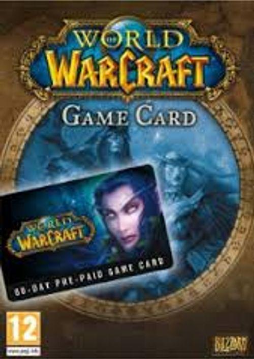 World of Warcraft Game Card 60 Tage