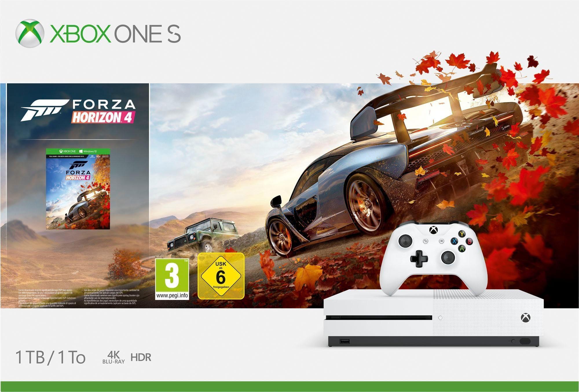 [OTTO] Xbox One S 1TB (Bundle, inkl. Forza Horizon 4) bei Otto, erstmal ohne Neukundengutschein