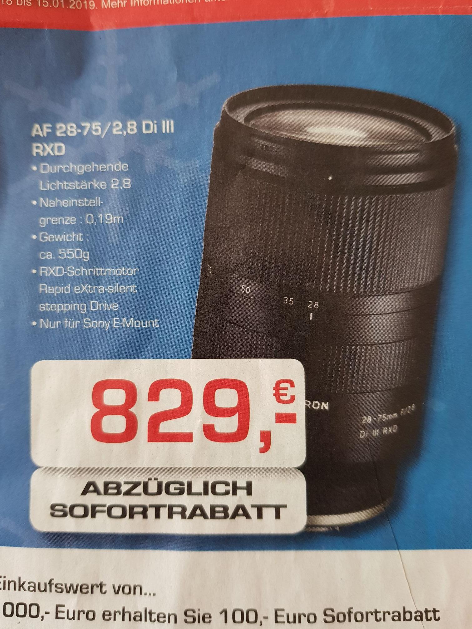 Tamron AF 28-75 2.8 Di III RXD Objektiv für Sony
