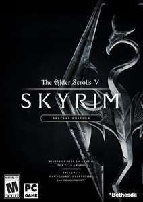 Elder Scrolls V 5 Skyrim special Edition PC. Steam