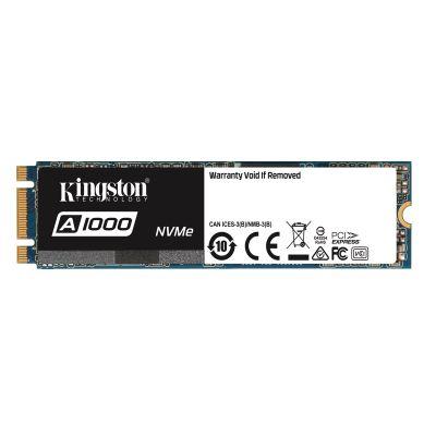 480 GB Kingston NVMe (1500MB/s) M.2 SSD