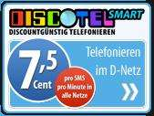 65€ Guthaben bei Discotel für 9,95 € (50€ garantiert!)
